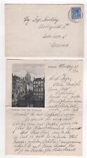 1922 NETHERLANDS Cover AMSTERDAM to KOPENHAGEN DENMARK + Letter Content