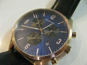 Bering Classic 10542-567 Chronograph mit Datumsanzeige