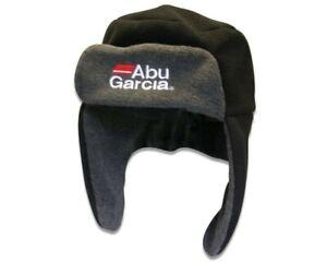 Abu Garcia Fleece Hat with ear warmers trapper hat trapper style hat winter hat