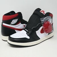 Nike Air Jordan 1 High OG Retro Sneakers Black Gym Red White Sail Mens Size 17