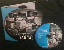 AMERICAN VANDAL 2018 Emmy FYC DVD Jimmy Tatro Calum Worthy Camille Ramsey