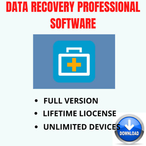 Data Recovery Professional Software✅Lifetime License✅Full Version✅Fast Delivery