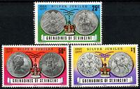 Grenadines St. Vincent 1977 Silver Jubilee MNH Set #R357