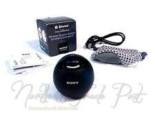 Sony SRS-BTV5 Portable Wireless Bluetooth NFC Speaker Travel Speakerphone Black