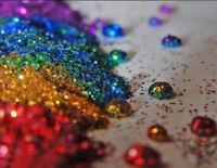 50g Glitter - Iridescent & Holographic .008 Ultra Fine Craft Wine Glass Nail Art