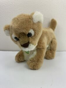 "Aurora Lion Cub Plush Babies 11"" Long Original Tag Stuffed Animal"