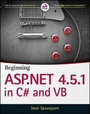 USED (VG) Beginning ASP.NET 4.5.1: in C# and VB (Wrox Programmer to Programmer)