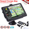 "7"" GPS Navigator SAT NAV Car Truck 8GB Navigation System W/ Free Updates EU Map"