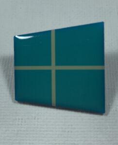 Microsoft Windows 8/10 Logo Pin Badge
