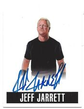 2017 Leaf Originals Wrestling Alt. Art Auto (2014/2016) Card - Jeff Jarrett