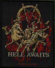 "Slayer ""Hell awaits"" Patch/Aufnäher 601781#"
