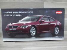 Kyosho 1/18 - BMW 645 Ci Coupé (dark red)