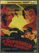 3 Supermen Contro Il Padrino DVD in Italiano regia Italo Martinenghi