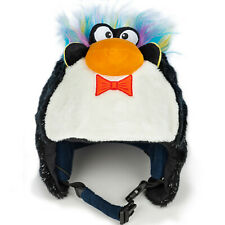 Crazeeheads Plush Edwin the Penguin Animal Bike Winter Ski Helmet Cover