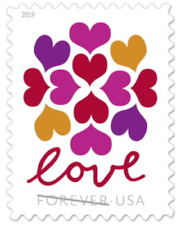 300 USPS Forever Stamps Love Heart Blossom Unused First Class Postag ( 20 * 15 )