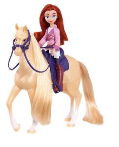 DreamWorks Spirit Riding Free MARICELA & MYSTERY Doll & Horse Set 2020