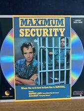 Maximum Security Laserdisc