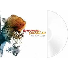 """Strapping Young Lad """"The New Black"""" White Vinyl LP [Devin Townsend, industrial]"""
