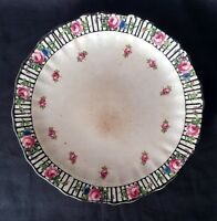 Antique Ditsy Rose Plate - 9 Inches | FREE Delivery UK*