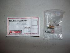 Kimpex Carburetor Inlet needle, seat, gasket NOS Tillotson HD