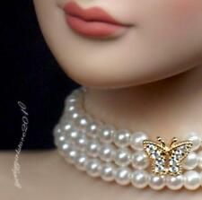 """Rhinestone Necklace and Earring Jewelry Set for 22"""" Tonner Tyler doll 022C"""