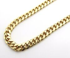 14K Gold Miami Cuban Chain 26 Inches 6.7MM 31.2 Grams