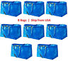 IKEA FRAKTA SHOPPING BAG NEW LARGE REUSABLE LAUNDRY TOTE GROCERY STORAGE VARIETY