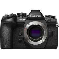 Olympus OM-D E-M1 Mark II 20.4MP Digital SLR Camera - Black (Body Only) NEW USA