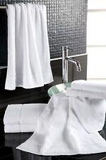 10x Gästetuch 30x50 cm Handtuch weiß Baumwolle Frottier *Hotel*