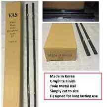 """20 x Wiper Blade Inserts Refills 8mm 24"""" Universal Twin Rail Metal Back Graphite"""