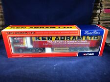 K-72 CORGI 1:50 SCALE DIE CAST TRUCK - CC12411 VOLVO CURTAINSIDE - KEN ABRAM LTD
