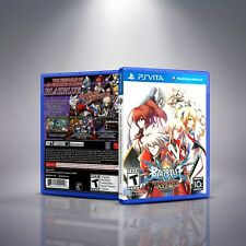 BlazBlue: Chrono Phantasma EXTEND - PlayStation Vita Cover and Case. NO GAME!!
