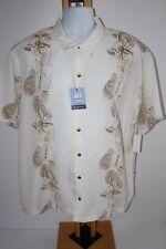 Van Heusen Shirt Top NEW NWT Men's Size XXL Button Down Cream