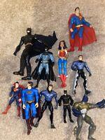 10x Action Figure Bundle Job Lot - DC Comics - Batman - Robin - Superheroes (5)