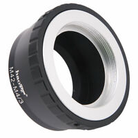 Adapter for M42 42mm Screw Mount Lens to Olympus Panasonic MFT M4/3 M43 Camera