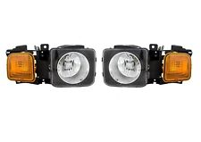 Left Right Genuine Headlights Headlamps Pair Set for Hummer H3 H3T GM