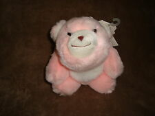 "Gund Snuff Snuffles Bear Pink 6"" Plush 80's Toy W/Tags"
