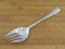 "Retroneu Jamestown Solid Serving Meat Fork 8 3/4"" VGC Stainless Flatware"