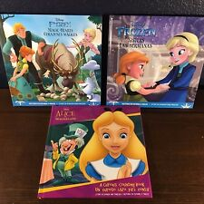 3 NEW Book Disney BILINGUAL ENGLISH SPANISH Child's Dual Language ELL ESL Frozen