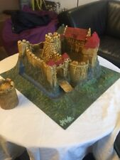 Burg, Diorama, Modell, Plastik, wahrscheinlich 1:72, Burgmodell