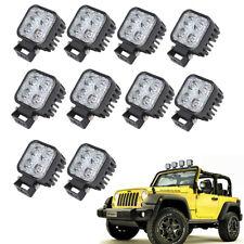 10X12W LED Arbeitscheinwerfer Flutlicht Nebel Lampe Strahler LKW SUV Jeep DC 12V