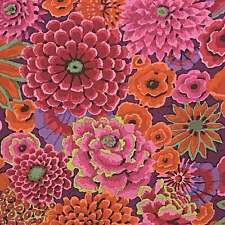 "FREE SPIRIT ""KAFFE FASSETT COLLECTIVE"" ENCHANTED PWPJ172 Rust by the 1/2 yard"