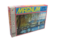 "VINTAGE 1971 MB MAGNUM LUGANO SWITZERLAND PUZZLE 2000 PIECE 40""X24"" #4280 Sealed"