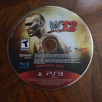 WWE'12 (Sony PlayStation 3, 2011)