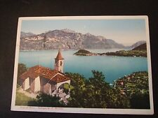 Postcard. Lago di Como, Bellagio da S. Martino. Posted, 1977 to Redhill. Surrey.