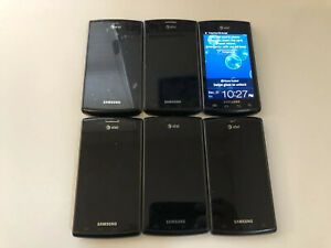Samsung S Captivate SGH-I897 Smartphone AT&T Works Good