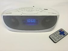 Portable Digital FM Radio Alarm Clock Wireless Bluetooth Speaker AUX - USB - MP3