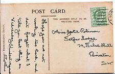 Genealogy Postcard - Family History - Robinson - Brixton - London   552A