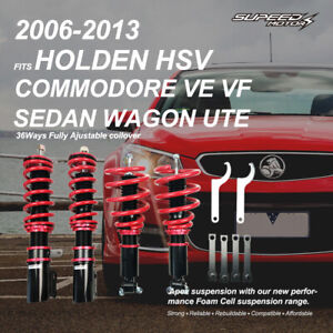 Adjust Height Coilover Suspension For Holden VE Commodore Sedan Wagon Ute 06-13