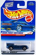 Hot Wheels 1998 First Editions #6 Jaguar D Type #638 New On Card